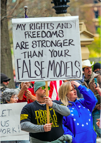 Ohio residents protest against state restrictions amid COVID-19. Photo via Flickr.