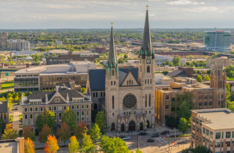 Visiting professor of theology Chris Gooding said Marquette administrators have not announced they will take a pay cut, although some leaders at other institutions have.