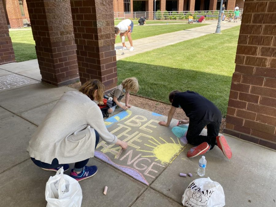 Wauwatosa resident Susie Loosen and her family write be the change together.