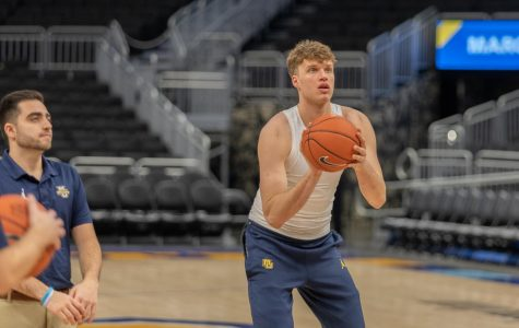 Jayce Johnson was a graduate transfer from University of Utah during the 2019-20 season.