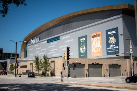 Fiserv Forum, the arena for the NBA