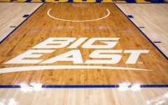 BIG EAST logo at Fiserv Forum.