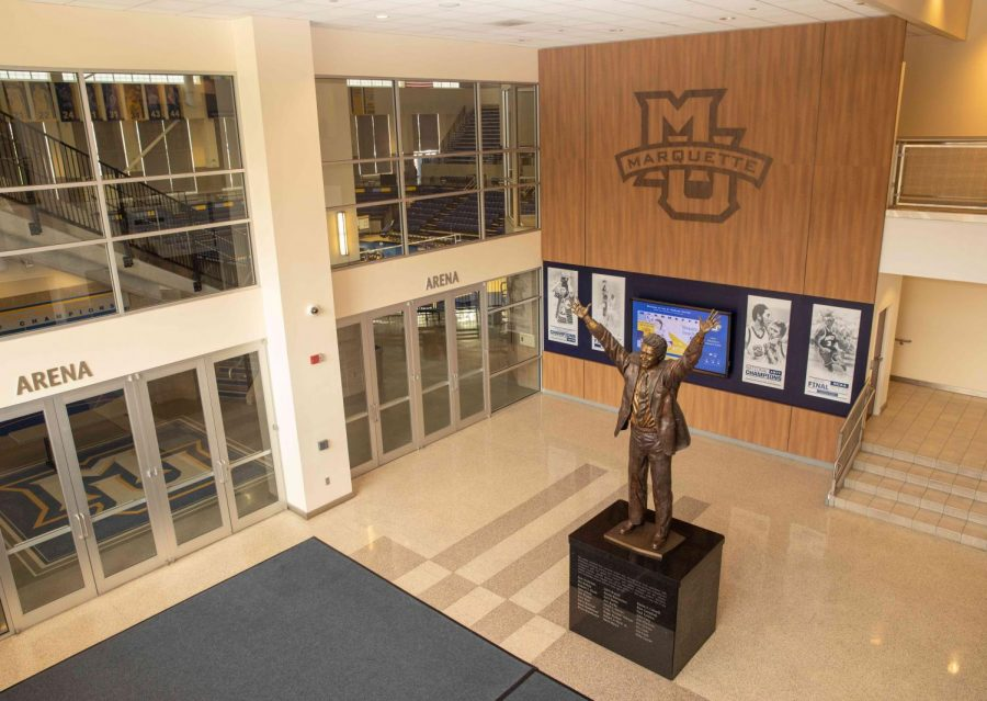 Al McGuire Center (Photo courtesy of Marquette Athletics.)