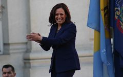 Kamala Harris, though some may worry about her career as a prosecutor, is considered a popular choice for Vice President. Photo via Flickr.
