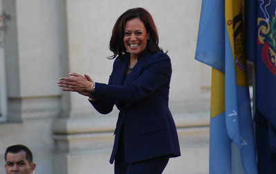 Kamala Harris is Joe Biden's running mate. Photo via Flickr.
