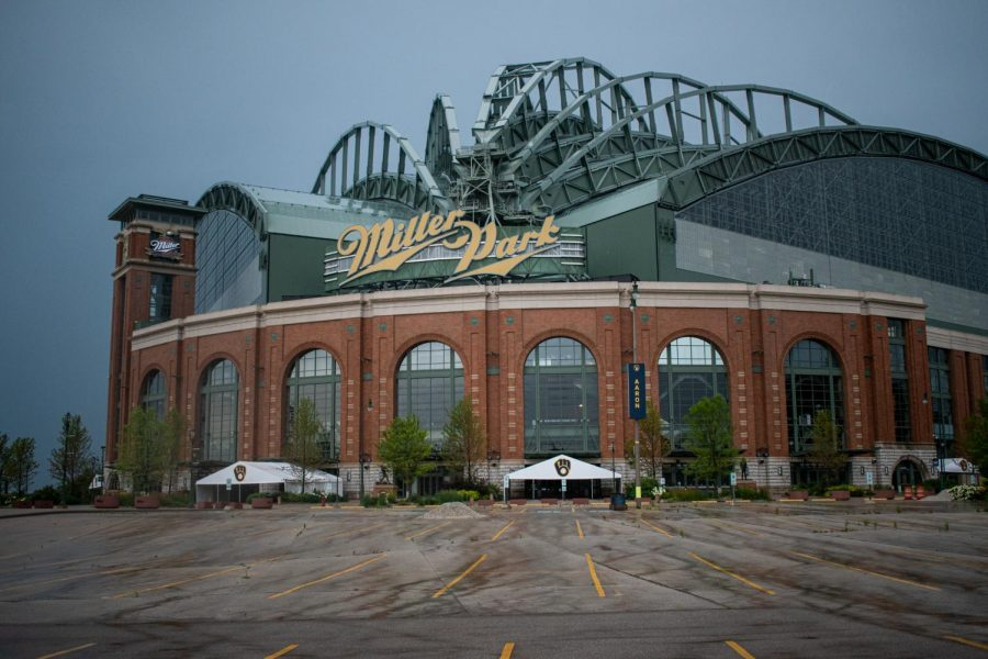 A revised schedule has allowed MLB teams, like the Milwaukee Brewers, to play games at their home stadiums.