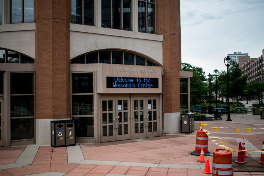 The Democratic National Convention was moved from its original location of Fiserv Forum to the Wisconsin Center. The convention was also moved to an almost entirely virtual format.