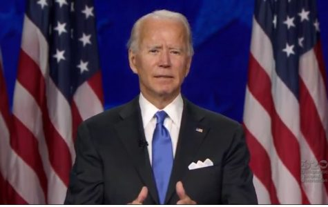 Joe Biden officially accepts the Democratic presidential nomination