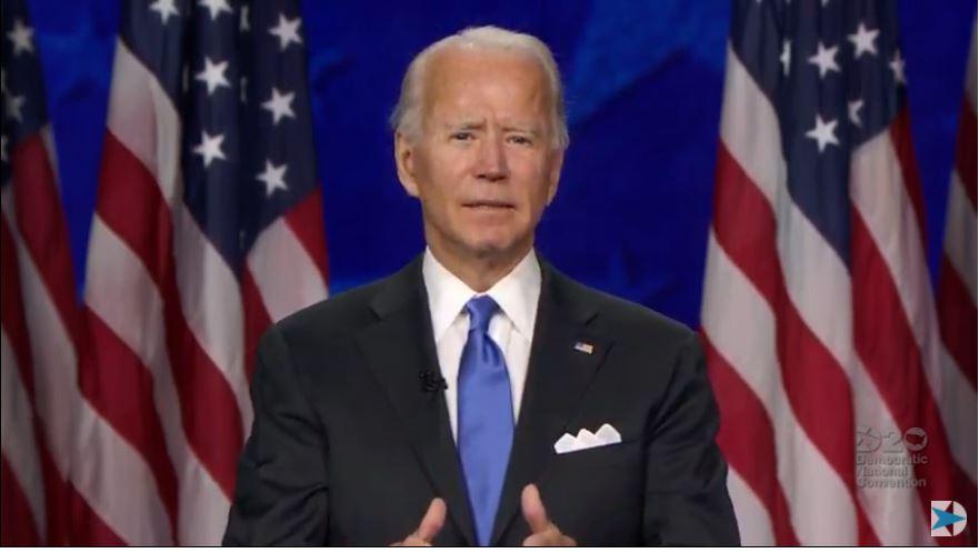 Joe Biden officially accepts the Democratic presidential nomination