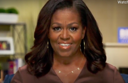 Former First Lady Michelle Obama disapproves of current state of America, encourages everyone to vote