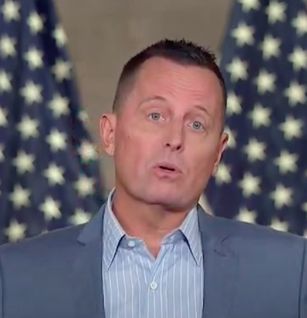 Richard Grenell was one of the speakers on the third night of the RNC.  Screenshot from RNC livestream.