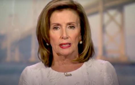 Speaker of the House Nancy Pelosi shares Joe Biden should be the next president on the third night of the DNC.  Screenshot from DNC Livestream.