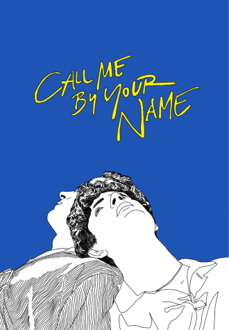 "Drawing of ""Call Me By Your Name"" film poster. Photo via Flickr"