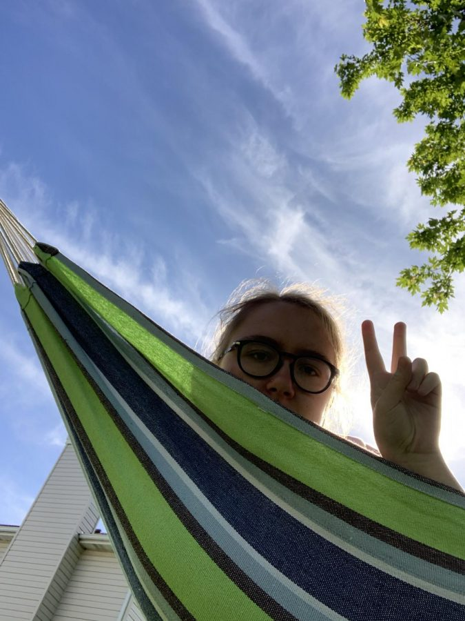 Sometimes finding peace means hanging out in a hammock. Photo courtesy of Annie Mattea.