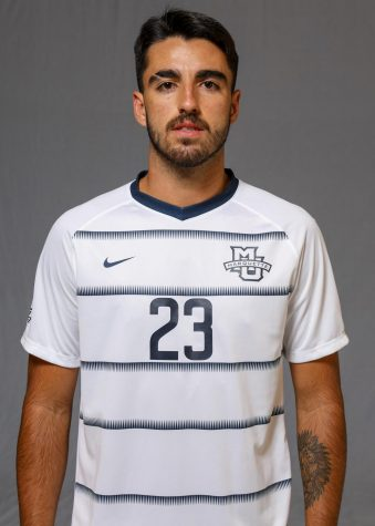 Zyan Andrade is a midfielder who transferred last semester to Marquette from University of San Francisco. (Photo courtesy of Marquette Athletics.)