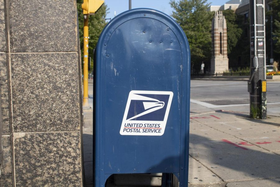 The USPS is in danger of being defunded.