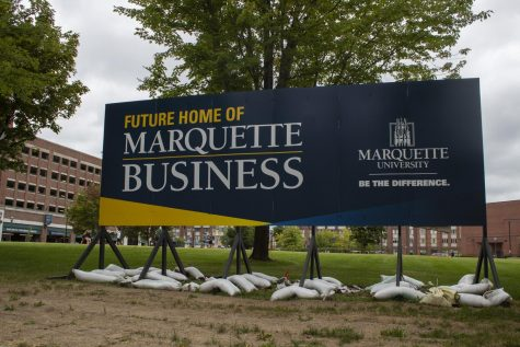 Marquette's new business school will be where McCormick Hall used to be.
