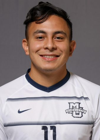 Beto Soto is a first-year on the men