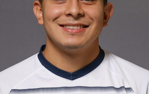 Beto Soto is a first-year on the men's soccer team. (Photo courtesy of Marquette Athletics.)