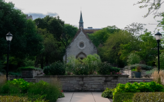 St. Joan of Arc Chapel is one location on campus that provides space for Christian services and reflections.