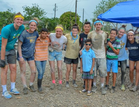 Marquette Athletics sent 16 student-athletes to Juanilama, Costa Rica and build a sports court for the community through a partnership with an organization called