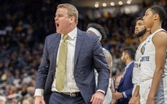 Head coach Steve Wojciechowski at a game last season against Central Arkansas Dec. 28.