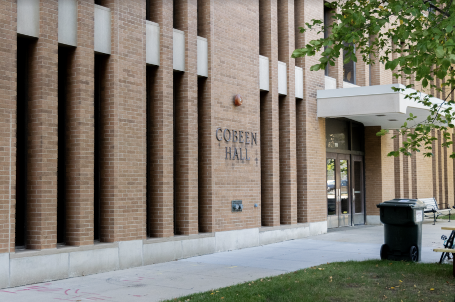 Cobeen Hall is one of the residence halls to charge an extra expense for laundry. Marquette Wire stock photo