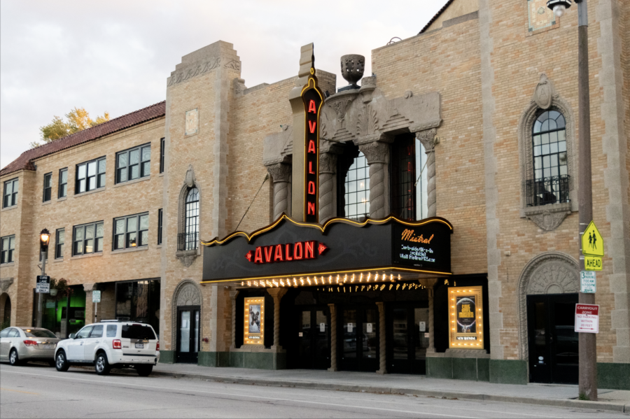The Avalon Atmospheric Theater is showing the movie