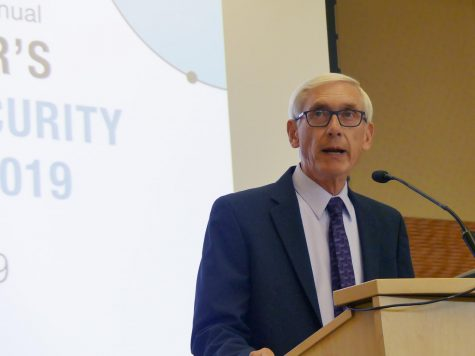 Governor Tony Evers issued an emergency order in response to a spike in COVID-19 cases Oct. 6 to reduce capacities for restaurants and indoor events. Photo via Flickr