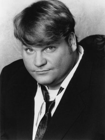 Comedian Chris Farley graduated from Marquette in 1986. Photo courtesy Department of Special Collections and University Archives, Raynor Memorial Libraries, Marquette University.