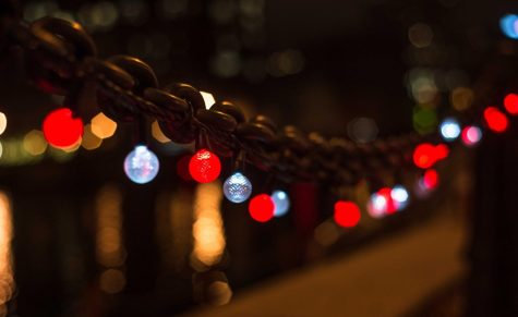 Some people are beginning to decorate the city with lights. Marquette Wire stock photo