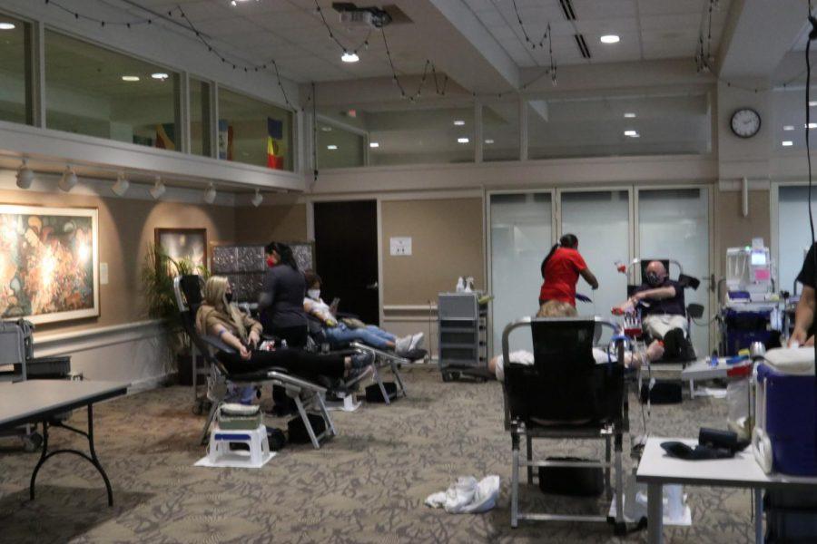 Alpha Sigma Nu hosts blood drive