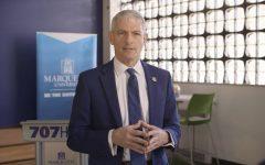 University President Michael Lovell delivers seventh presidential address