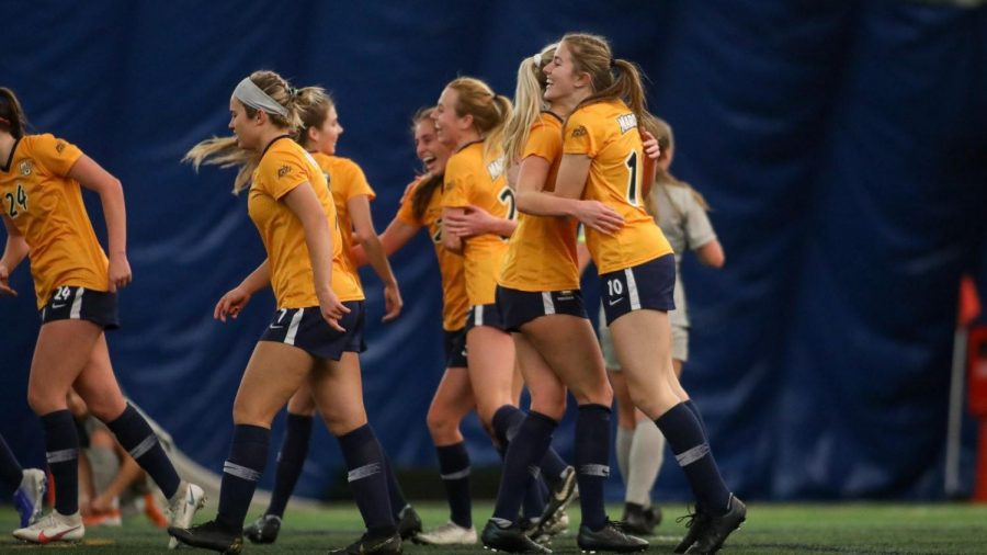 Marquette Women's soccer is off to a 4-1 start to the 2021 season (Photo Courtesy of Marquette Athletics).