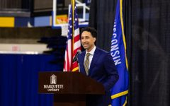 Marquette Athletics hired Shaka Smart as the new head men's basketball coach last week. (Photo courtesy of Marquette Athletics.)