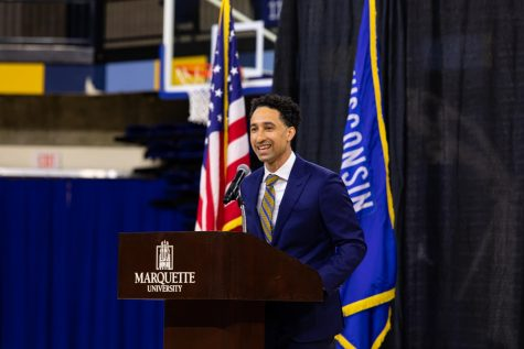 Marquette Athletics hired Shaka Smart as the new head men