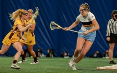 The Marquette Women's Lacrosse team got redemption against Central Michigan University on Friday afternoon (Photo courtesy of Marquette Athletics).