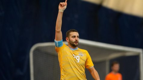 Redshirt senior defender Oliver Posarelli has been a key defensive player in Marquette