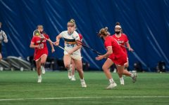 The Golden Eagles fell to No. 19 University of Louisville on Sunday afternoon (Photo Courtesy of Marquette Athletics).