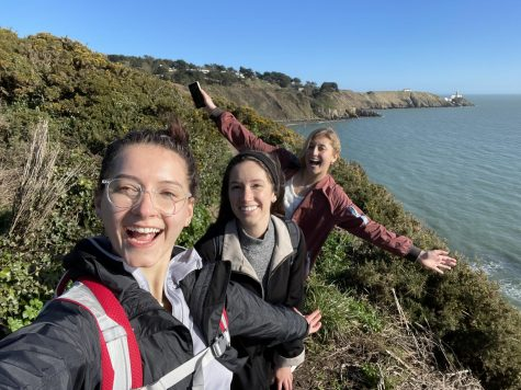 Marquette students Kierney McGrath, Justyna Bochenek and Elizabeth Hall are three of 10 nursing undergraduate students studying abroad this semester in Dublin, Ireland. Photos courtesy Elizabeth Hall.