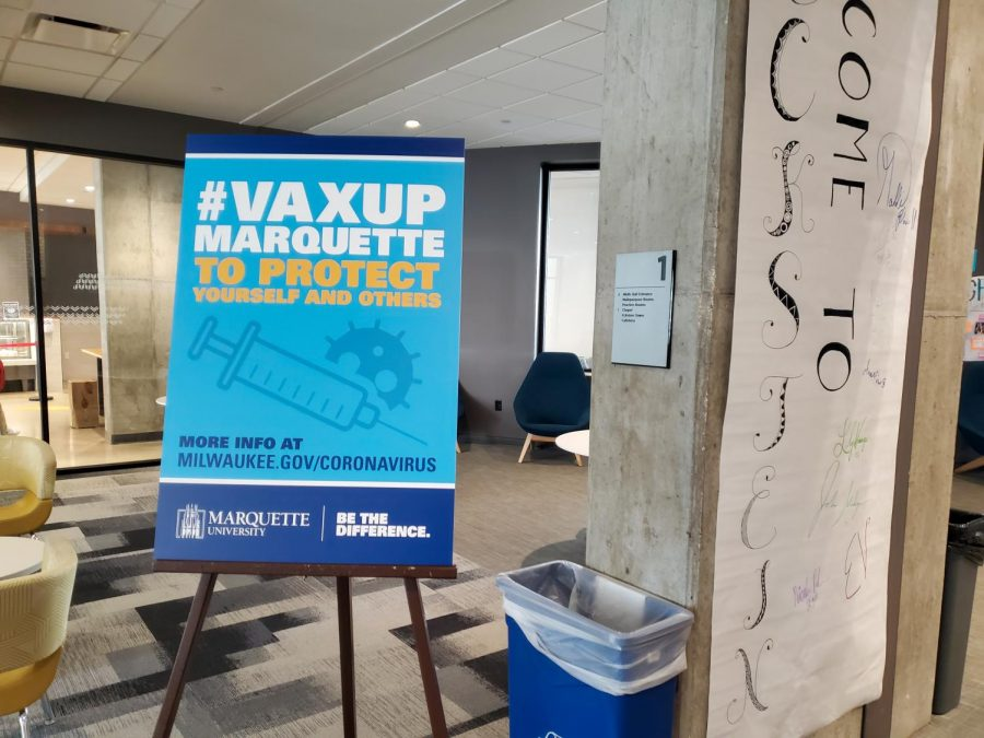#VaxUpMarquette encourages students to get vaccinated