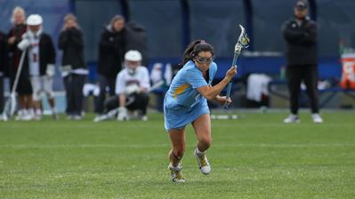 The Marquette Women's Lacrosse team won easily on Friday afternoon against Butler (Photo courtesy of Marquette Athletics).