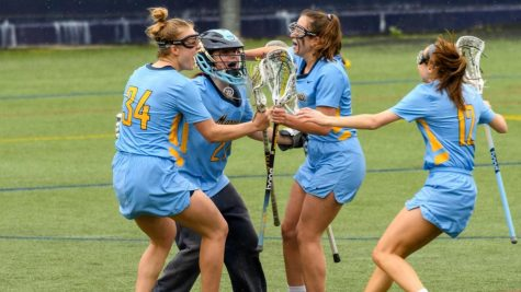 Marquette is victorious in first game of the weekend against Georgetown (Photo Courtesy of Marquette Athletics).