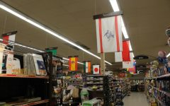 International food products can be purchased at some local grocery stores.