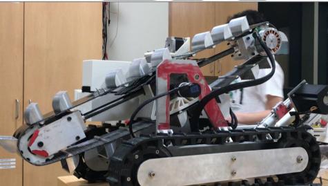 A student designed mobile robot for NASA