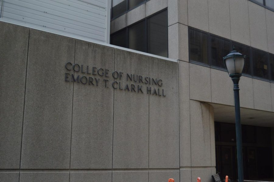 Clark Hall is home to the College of Nursing at Marquette.