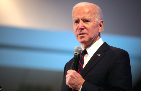 President Joe Biden speaks at the 2020 Iowa State Education Association Legislative Conference Jan. 2020. Photo via Flickr