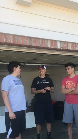 Joseph Beaird and his brothers pack up their home in Yorba Linda, Orange County, California to move in summer 2019. Photo courtesy of Joseph Beaird