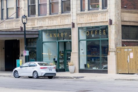 Coffee spots around Marquette