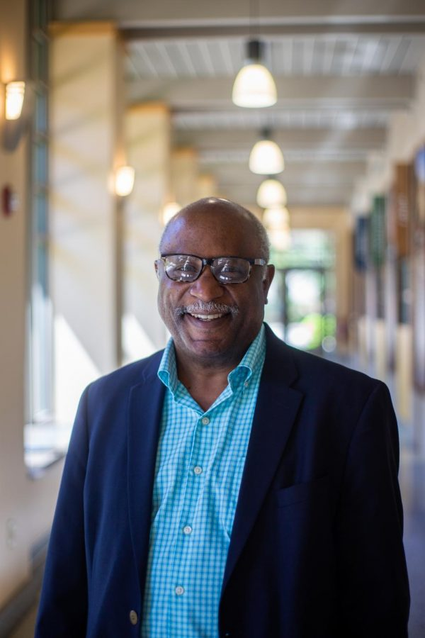 Looking back on his accomplishments in his career, William Welburn celebrates his retirement.